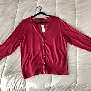 NWT WHBM Cardigan - Size 2X